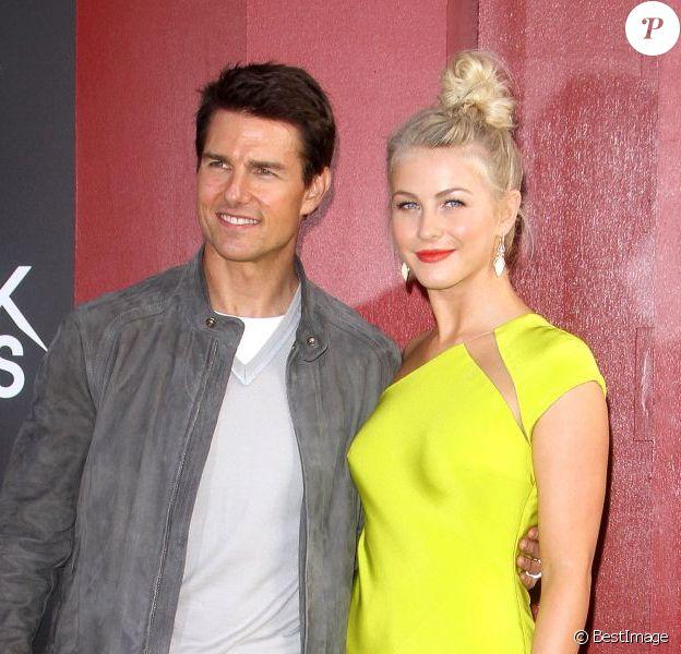 Tom Cruise et la sublime Julianne Hough lors de l'avant-première de Rock of Ages au cinéma The Grauman's Chinese à Hollywood le vendredi 8 juin 2012