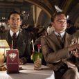 Leonardo DiCaprio et Tobey Maguire dans  Gatsby le Magnifique , réalisé par Baz Luhrmann.
