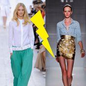 Chemise en jean VS chemise blanche