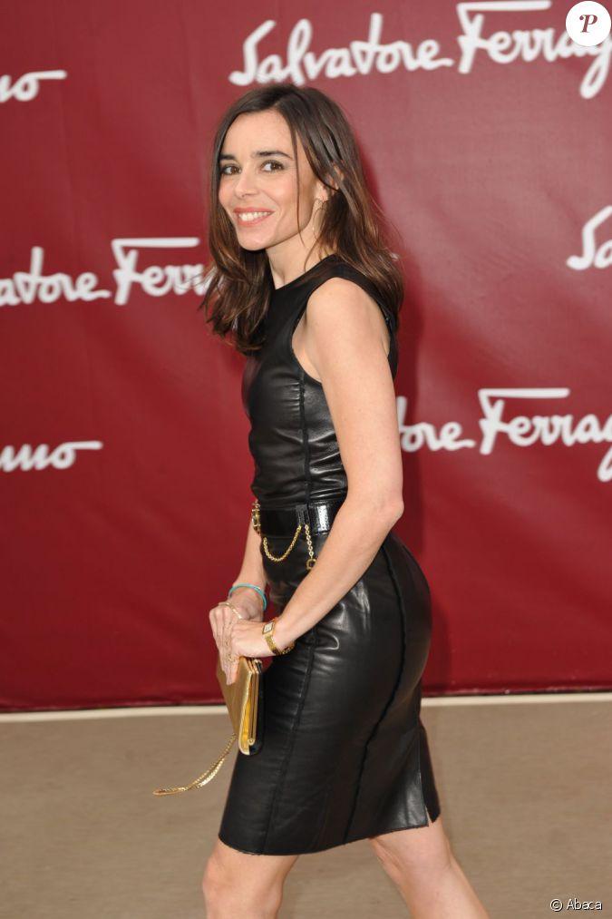 Elodie Bouchez assiste au défilé Croisière 2013 de ...