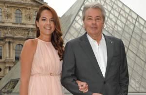 Alain et Anouchka Delon, fan d'art et de mode avec Hilary Swank et Freida Pinto