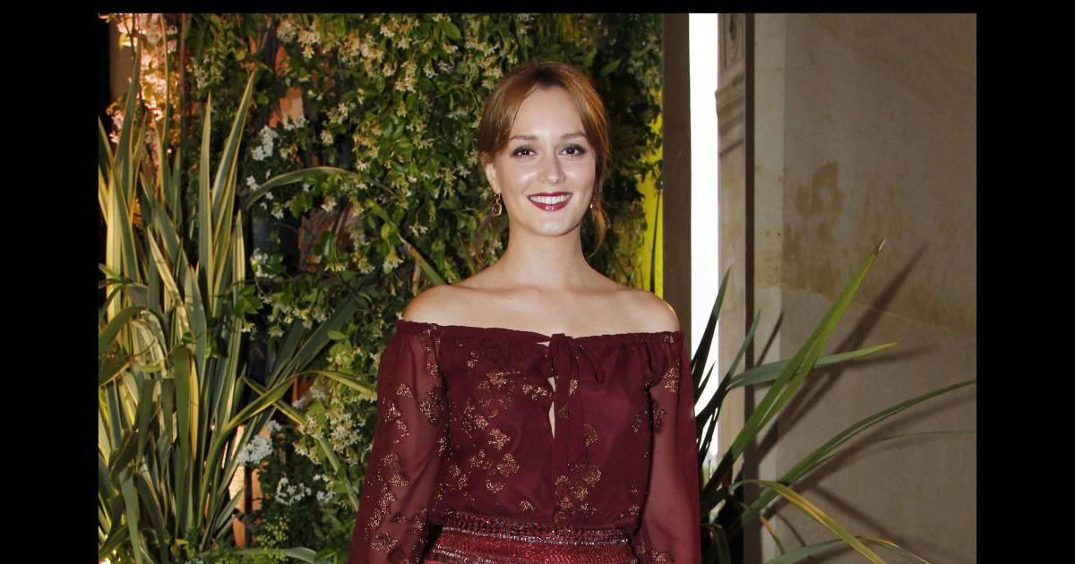 Leighton Meester, actrice et fashionista confirmé, assiste ...