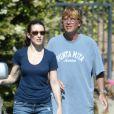 Kristin Davis et son nouvel homme Aaron Sorkin le 3 juin 2012 à Los Angeles
