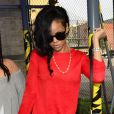 Rihanna à New York le 13 juin 2012