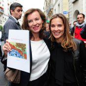 Melissa Theuriau et Valérie Trierweiler, unies pour Florence Cassez
