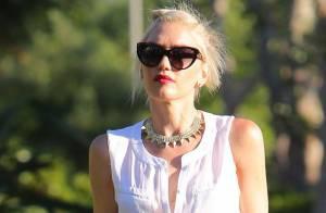 Gwen Stefani : Stylée et en famille pour la Fête des pères