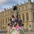 L'artiste au vernissage de l'exposition Joana Vasconcelos au château de Versailles, le 18 juin 2012.