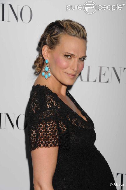 Molly Sims en mars 2012 à Los Angeles.