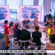 Le plateau de la Matinale du 22 juin 2012 sur Canal +