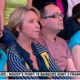 Ariane Massenet lors de la Matinale du 22 juin 2012 sur Canal +