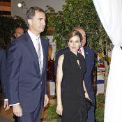 Letizia d'Espagne et son Felipe : Rois des Etats-Unis pour une élégante soirée
