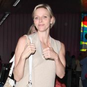 Charlene Wittstock, radieuse, débarque à Los Angeles sans son prince Albert