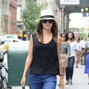 Miranda Kerr : Un look animal pour fouler le pavé new-yorkais