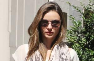 Miranda Kerr : Ultrastylée pour un rendez-vous amoureux avec son mari motard