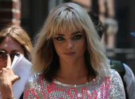 Miranda Kerr se transforme en blonde sexy dans les rues de New York