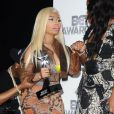 Nicki Minaj en plein photoshoot des BET Awards 2012, à Los Angeles le 1er juillet 2012