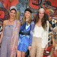 Tatiana Santo Domingo entre Margherita Missoni et Eugenia Niarchos en mai 2010 pour l'expo Graffiti à Monaco.   Andrea Casiraghi et Tatiana Santo Domingo, après 7 ans d'amour, se sont fiancés ! La princesse Caroline de Hanovre s'est fait une joie d'annoncer les fiançailles de son fils aîné le 4 juillet 2012.