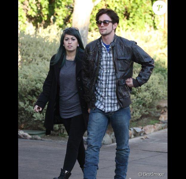 Le couple Jackson Rathbone et Shaila Hasfadi en novembre 2011 à Los Angeles