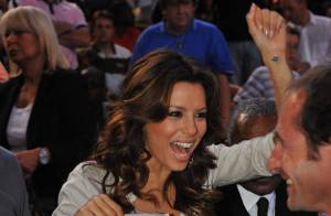 PHOTOS : Eva Longoria et Tony Parker des fans très enthousiastes !