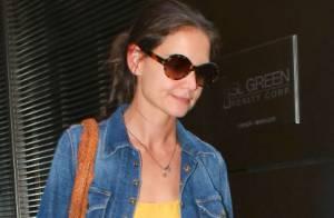 Katie Holmes : Épuisée, elle ne baissera pas les bras pour l'amour de Suri