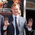 Christopher Nolan laisse ses empreintes au Grauman's Chinese Theater à Hollywood à Los Angeles le samedi 7 juillet 2012