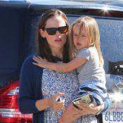Jennifer Garner : Sublime dans son look BCBG aux côtés de Seraphina, très agitée