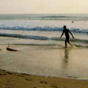 Princes William et Harry en body board: Charles leur a transmis le virus du surf