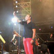 Nikos Aliagas : Véritable rock star devant plus de 40 000 personnes à Athènes