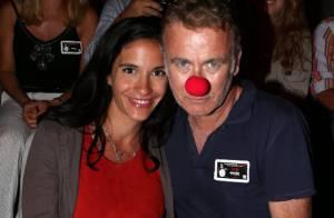 Franck Dubosc et sa Danièle, enceinte : De vrais clowns pour le retour de Bigard