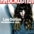 Lou Doillon en couverture des  Inrockuptibkes , en kiosques le 11 juillet 2012.