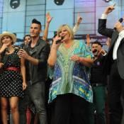 Baptiste Giabiconi chante avec Emma Daumas et les stars de PBLV contre le cancer