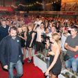 Eric Cantona au Festival de Sarajevo le 11 juillet 2012