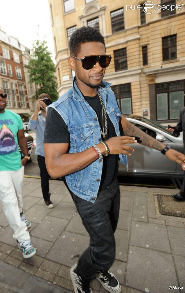 Usher à Londres, le 23 juin 2012.