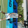 David Marouani, lors du tournoi  Classic Tennis Tour , les jeudi 12 et vendredi 13 juillet à St-Tropez.