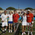 , lors du tournoi  Classic Tennis Tour , les jeudi 12 et vendredi 13 juillet à St-Tropez.
