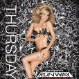 Heidi Klum, super sexy pour lancer la dixième saison de son émission Project Runway.
