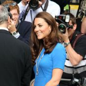 Kate Middleton : Beauté électrique et olympique en Stella McCartney