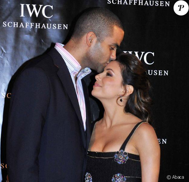 Eva Longoria et Tony Parker à la soirée IWC