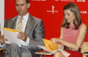 Princesse Letizia : Colorée au côté de Felipe pour le rayonnement de l'Espagne
