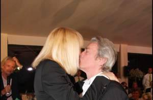 PHOTOS : Alain Delon et Mireille Darc, de tendres retrouvailles
