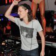 DJ Mosey, Pierre Sarkozy, a fait passer un bon moment à la foule au VIP Room de Saint-Tropez le 30 juillet 2012