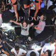 DJ Mosey, Pierre Sarkozy, a mis le feu derrière les platines du VIP Room de Saint-Tropez le 30 juillet