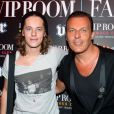 Pierre Sarkozy et Jean-Roch au VIP Room le 30 juillet 2012