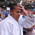 Lucie Decosse, abasourdie après être devenue championne olympique le 1er août 2012 à Londres