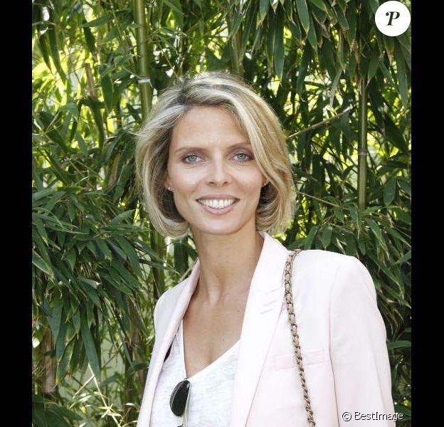 Sylvie Tellier en mai 2012 à Roland Garros
