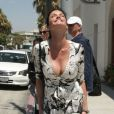 Janice Dickinson à Beverly Hills le 1er août 2012