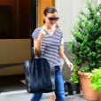 Miranda Kerr à New York dans un look stylé et sporty