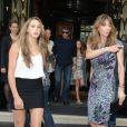 La fille de Sylvester Stallone et sa femme Jennifer Flavin à Paris le 9 août 2012