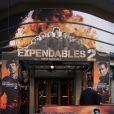 L'avant-première du film Expendables 2 - unité spéciale à Paris le 9 août 2012