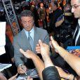 Sylvester Stallone lors de la projection d'Expendables 2 à Paris le 9 août 2012